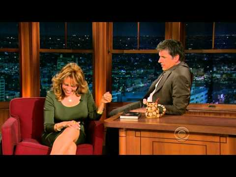 Late Late Show with Craig Ferguson 4/7/2010 Raquel Welch, An