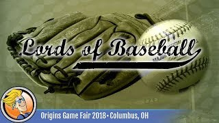 Lords of Baseball — game preview at Origins 2018