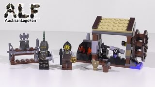 Lego Kingdoms 6918 Blacksmith Attack / Hinterhalt in der Schmiede - Lego Speed Build Review