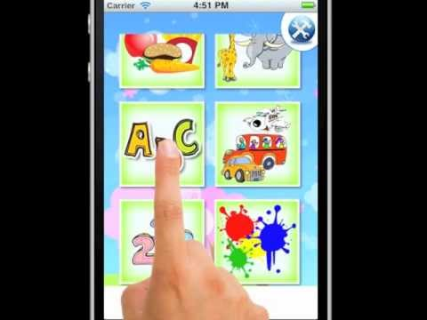 Spanish Baby Flashcards App for iPhone, iPad and Android by eFlashApps