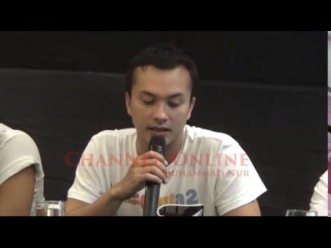 Nicholas saputra, Rangga Starring in the film 2 read POETRY AADC in Makassar