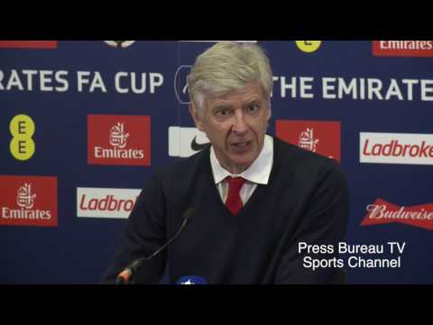 Arsene Wenger reaction Arsenal vs Manchester City FA CUP