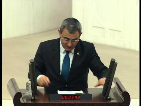 ALİM IŞIK   Uluslararası anlaşmalar 2 madde üzerine şahsı adına konuşması   04 02 2015
