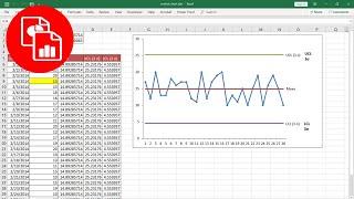 Create a Basic Control Chart