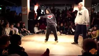 Hiphop Revolution 2018 Hip hop Semi Final: Chiara vs Nils