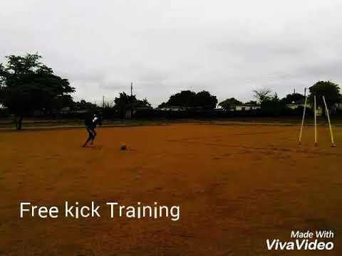 Amazing free kicks by Botswana Wonderkid