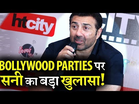 Sunny Deol's Big Statement on why he never attended Bollywood parties!