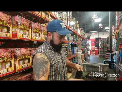 LATE POST Firework Shopping Trip To Pahrump Nevada