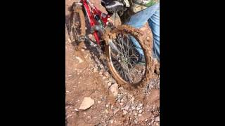 Bicycle mudding