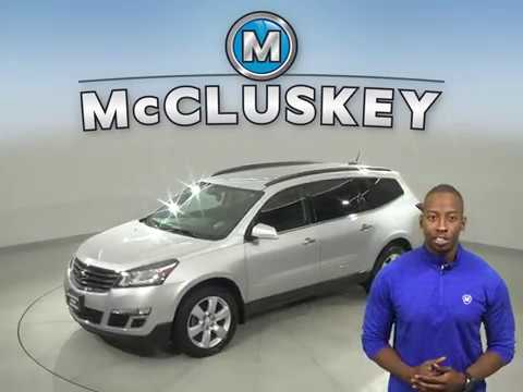 A16701PT Used 2016 Chevrolet Traverse Silver SUV Test Drive, Review, For Sale -