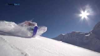 Freeriden lernen: Snowboard Butter 360