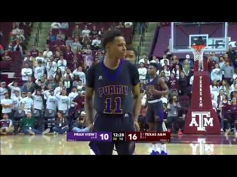 Prairie View A&M vs Texas A&M  NCAA Men's Basketball December 9, 2017