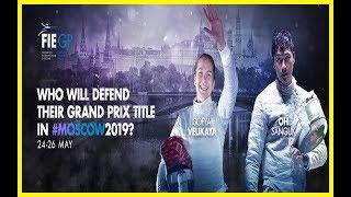 Men`s Sabre Grand Prix Moscow 2019 - Finals