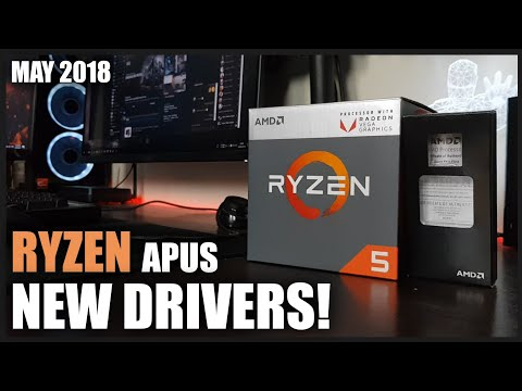 NEW Drivers For Ryzen APUs! | Old Vs New Test | Ryzen 5 2400G Gaming Benchmarks 720p, 900p And 1080p