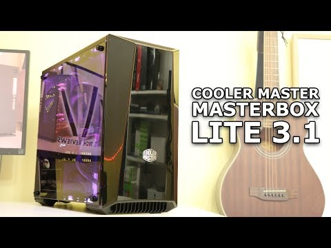 Cooler Master Masterbox Lite 3.1 Air-cooled build