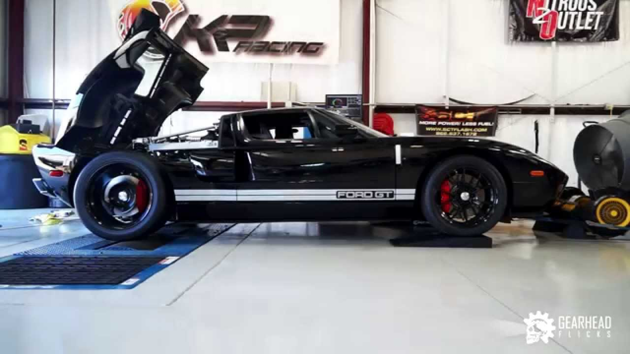 Kelly Bise  Ford Gt  Rwhp Dyno Testing