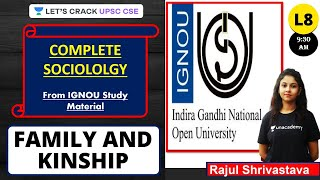L8: Family and Kinship | Sociology from IGNOU Study Material | UPSC CSE/IAS