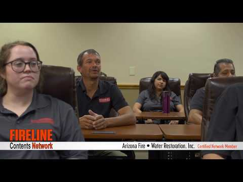 AZ Fire Water Smoke Flood Restoration in Arizona: Information Fireline Network Video