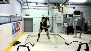 Техника катания с использованием конькобежного тренажера2