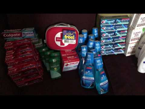 Rite Aid Couponing Haul 07/09/17