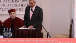 Odczyt wystąpienia posła na Sejm RP Antoniego Błądka - K U L WZNoS w Stalowej Woli