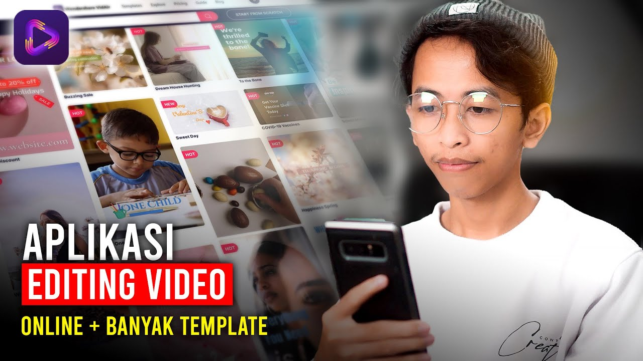 Aplikasi Editing Video Online Yang Menyediakan Banyak Template Video Siap Pakai | Wondershare VidAir
