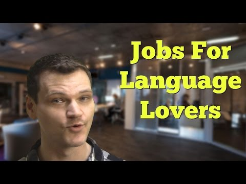 What Job Can I do With Foreign Language Skills?