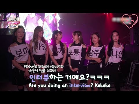 [0419SUBS] Show Champion Behind Ep 99 - Apink