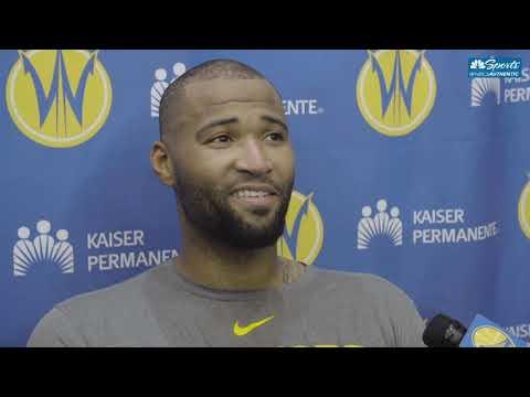 DeMarcus Cousins Full Interview After Joining Santa Cruz Warriors