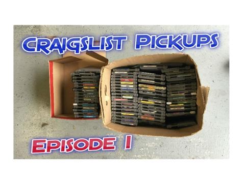 Craigslist Pickup - Nintendo Games - Episode 1 - YouTube