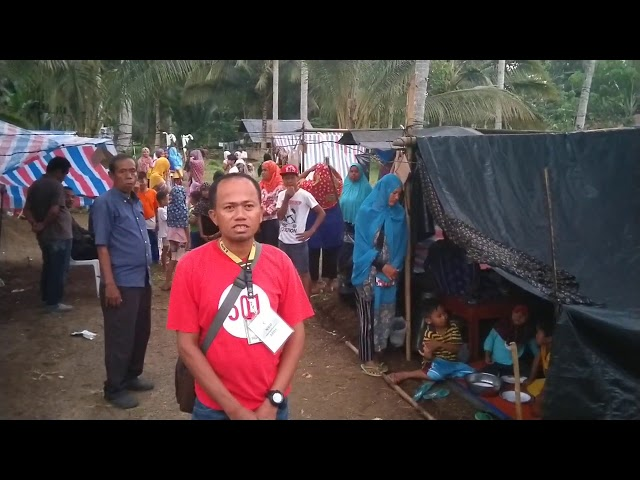 Message from Earthquake Victim Bro  Abdullah Pato at Southern Philippines