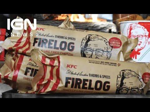 Hilary - KFC has a yule log that smells like fried chicken