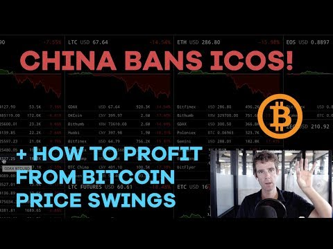 China Bans ICOs! How To Profit From Bitcoin Price Swings, What I'm Buying - CMTV Ep39