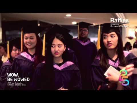 Raffles Singapore presents June 2015 Graduation Highlights