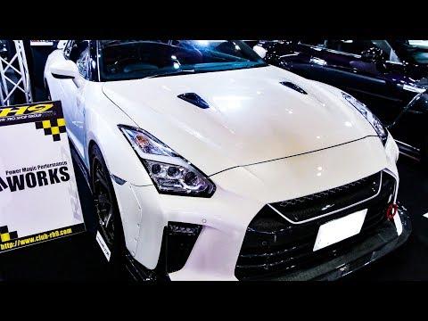 (HD)TM WORKS NISSAN GT-R R35 modified 日産R35GTRカスタム  - TOKYO AUTO SALON 2019