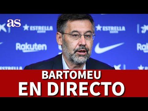 DIMISIÓN BARTOMEU EN DIRECTO   Diario AS
