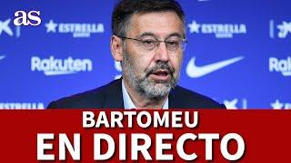 DIMISIÓN BARTOMEU EN DIRECTO | Diario AS