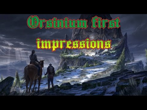 Orsinium First impressions: Quests, Dungeons, bugs, and more!