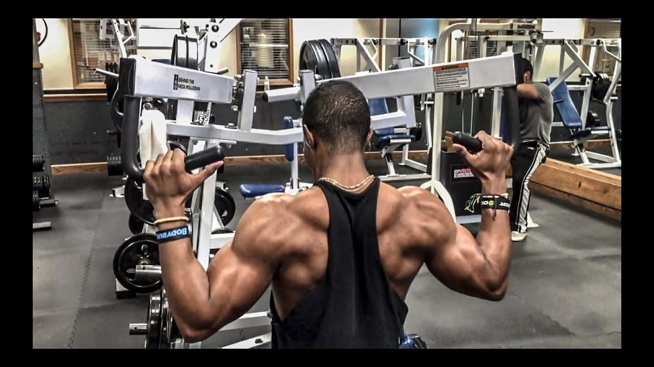 Back and shoulder workout youtube