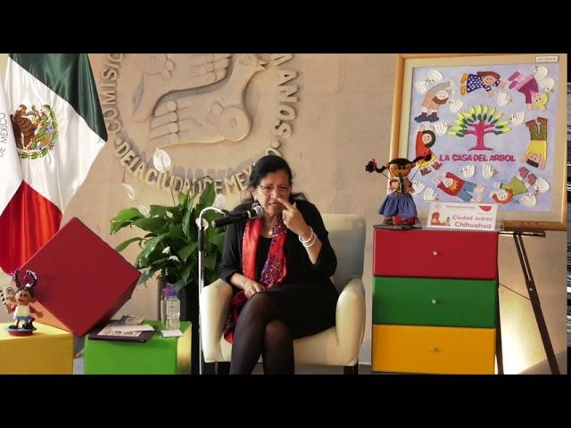 Discurso Presidenta de la CDHCM, en presentacion del Infancias Encerradas, estado de Chihuahua