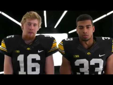 Iowa Hawkeyes Big Ten Championship Intro