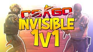CS:GO INVISIBLE 1v1! (CS:GO 1v1 Challenge)