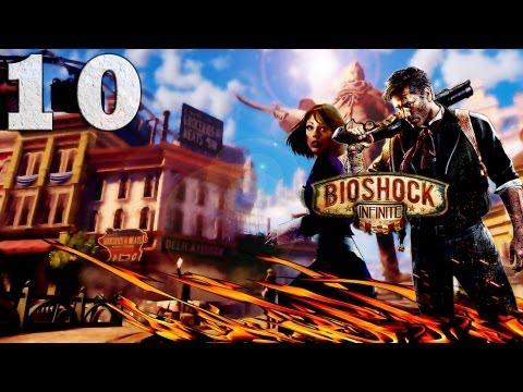 Смотреть прохождение игры Bioshock Infinite. Серия 10 - Летим в Париж? [Art let's play]