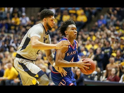 HIGHLIGHTS: #10 Kansas Knocks Off #6 West Virginia | Stadium