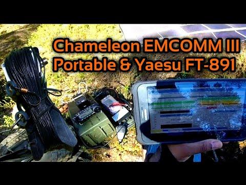 2 Days Off Grid - FT8 Chameleon EMCOMM 3 Portable to Japan FT8