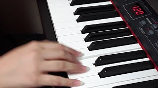 피아노 방토밴의  옥탑방 연주