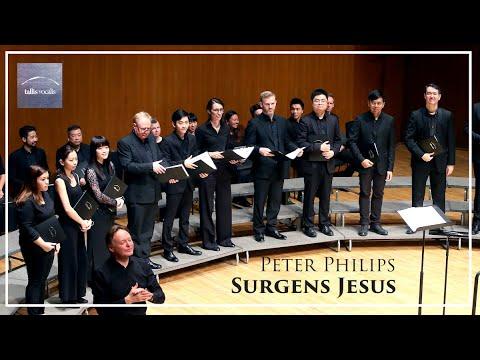Peter Philips – Surgens Jesus