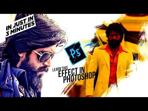 #EP3 KGF Poster Design using brush in Photoshop – Hindi Tutorial thumbnail