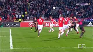ジルーのスーパーオーバーヘッドキック!! アーセナルvsレッドスター・ベオグラード 19-10-2017 ヨーロッパリーグ