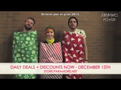 Paramore: Holiday Sale Commercial (Subtítulos en Español) Videos De Viajes